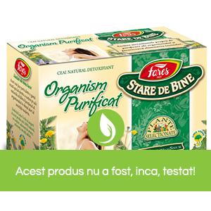 Ceai Organism purificat plicuri Fares | Farmacia Ardealul