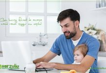 Cum lucrezi eficient de acasa cand ramai singur cu copilul